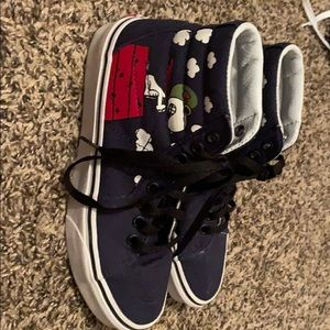 Vans Charlie Brown exclusive high tops